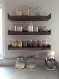 diy reclaimed wood shelves full wall - Google Search