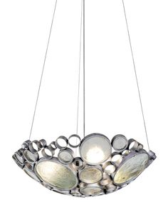 Varaluz 165P03 Fascination 20 Inch Ceiling Pendant #EarthDayPinaway