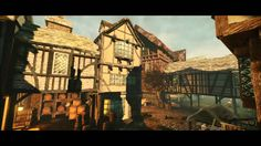 Flying through 17th Century London Animation. AWESOME. Pudding Lane Productions, Crytek Off The Map