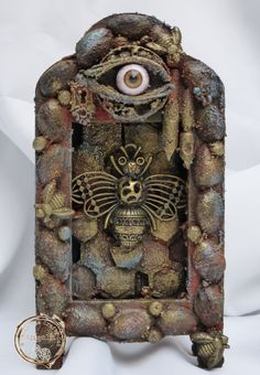 This is a shrine to the humble bee, one of the most important insects that lives!