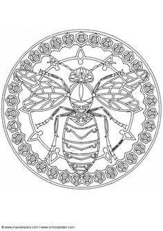 Mandala abeille