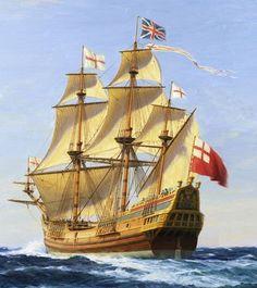 The founder of the Gist family of Maryland and South Carolina was Christopher Richard Gist BIRTH ABT 1650 Old Sailing Ships, Sailing Boat, Mary John, Lake Jackson, Ship Drawing, Nautical Art, Navy Ships, Seascape Paintings, Model Ships