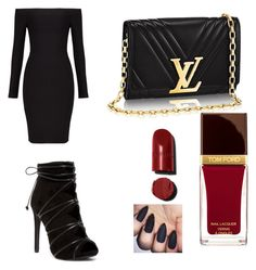 """""""Prom night 4"""" by barouhosdina ❤ liked on Polyvore featuring BCBGMAXAZRIA and Tom Ford"""