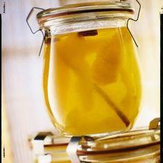 Gelée de pommes et cannelle aux agrumes
