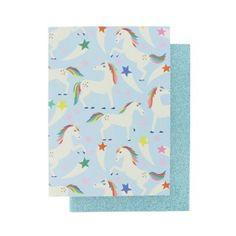 Unicorn Star A5 sketchbooks - set of 2