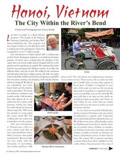 Travel with us to Vietnam! Vietnam Travel, Hanoi, The Voice, Public, Author, Magazine, River, Adventure, City