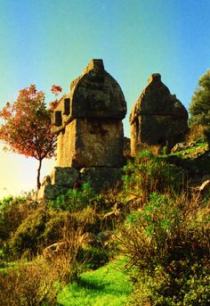 Tombs for the dead. The best ancient views around Turkey. Ancient site of Tlos.