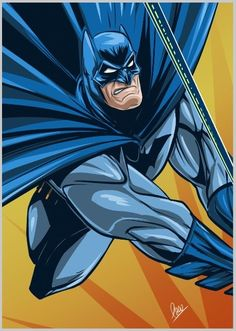 Batman by Paco Pincay!
