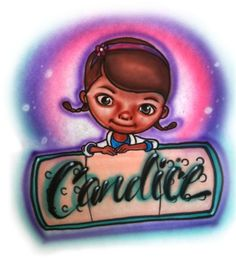 Disney Doc Mcstuffins Inspired Airbrushed T-Shirt - T-Shirts $14.99 free shipping
