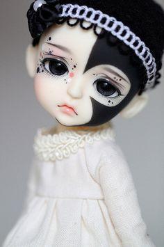 Pierrot Clown Doll