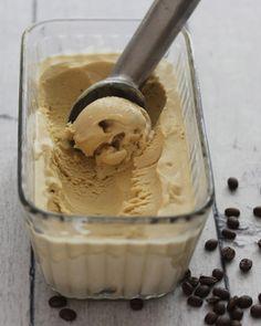 Coffee Bean Infused Coffee Ice Cream {a David Lebovitz recipe}