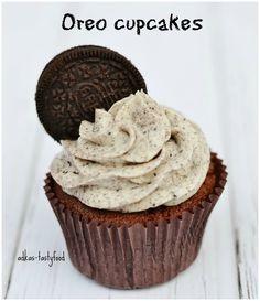 .. chute a vône mojej kuchyne...: Čokoládové Oreo cupcakes