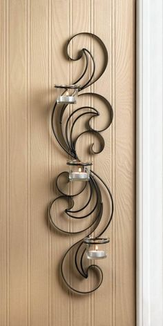 Wisp Candle Wall Sconce Set