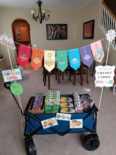 Great for on-the-go or booth sales at stores that don't. Great for on-the-go or booth sales at stores that don't… – Girl Scou -Girl Scout cookie wagon. Great for on-the-go or booth sales at. Selling Girl Scout Cookies, Girl Scout Cookie Meme, Girl Scout Cookie Sales, Girl Scout Cookies Recipes, Brownie Girl Scouts, Girl Scout Daisy Activities, Girl Scout Crafts, Scout Mom, Daisy Girl Scouts