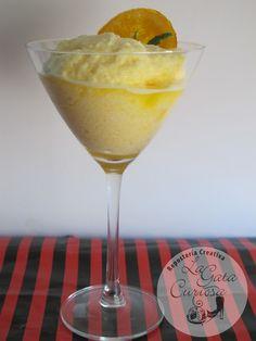 La Gata Curiosa sorbete de naranja Popsicles, Margarita, Martini, Ice Cream, Tableware, Sun, Slushies, Juices, Milkshakes