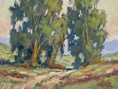 Tom Brown landscape painting