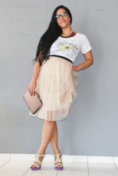 T-shirt guide and giveaway on my blog :) Giveaway, About Me Blog, Tulle, Ballet Skirt, Lady, Skirts, T Shirt, Fashion, Moda