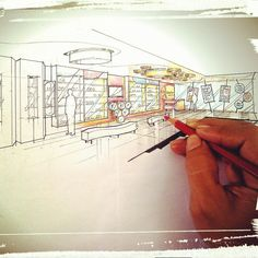 Sketch Ide - 'Cantik' Handphone Showroom @Cileduk - Tanggerang - Indonesia .../MyDesign