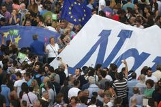 """Crowd-funder to bail out Greece raises more than €270,000.   A crowd-funder set up to assist Greece in its €1.6bn payment to the IMF has received more than €230,000 in just two days.  The page was set up by 29-year-old Thom Feeney from York, who said that all this dithering over Greece is getting boring and asked """"why don't we the people just sort it out instead?""""."""