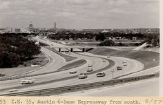 It's pics from the past of hometown, Austin Texas. Today Pictures, Old Pictures, Austin Hotels, Riverside Drive, Texas History, Best Cities, Austin Tx, Historical Photos, Great Places