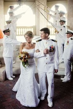 Navy Military Wedding