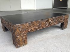 """ STUNNING"" BRUTALIST COFFEE TABLE BY ADRIAN PEARSALL IN MANNER OF PAUL EVANS  #AdrianPearsall"