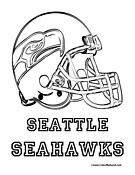 seattle seahawks coloring page - Seahawks Coloring Pages
