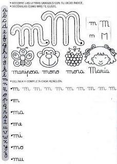 Actividades Escolares: caligrafía para el primer ciclo Spanish Lessons For Kids, Make Tutorial, I School, Teaching Resources, Homeschool, Stencil, Classroom, Letters, Math Equations