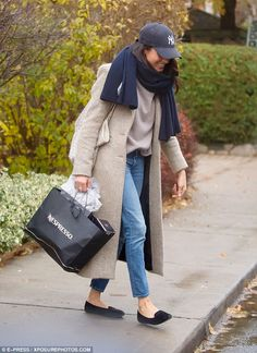 Miss Markle left her home in Toronto with a friend and was seen joking around and taking p...