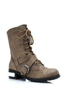 Combat Boots for Women - Fashion Combat Boots in Camo, Black, and More