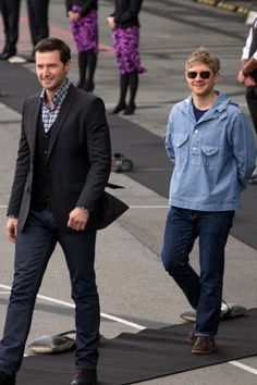 Richard Armitage & Martin Freeman x'3