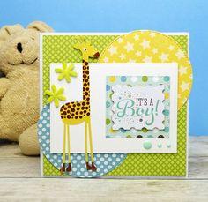 BABY CARD - Bundle of Joy (Echo Park) - blahopřání k narození miminka...