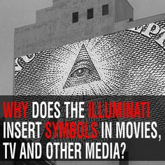 Illuminati symbols are all around us. What are the Illuminati's goals, reasons and motivations behind placing its symbols in popular media for all to see? Merovingian, Black History Facts, Ancient History, Movie Tv, Politics, Symbols