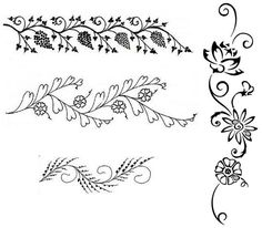 Татуировки хной дома: как сделать, сколько держится, фото и рисунки