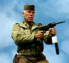 Lee Marvin with a grease gun, timeless...