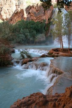 This Tiny Village is the Grand Canyon's Best Kept Secret: Havasu Canyon lies the tiny village of Supai, home to the Havasupai tribe. Oh The Places You'll Go, Places To Travel, Places To Visit, Grand Canyon National Park, National Parks, Grand Canyon Vacation, Grand Canyon Village, Destinations, Wanderlust