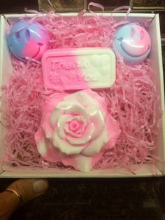 A personal favorite from my Etsy shop https://www.etsy.com/listing/241558046/thank-you-soap-gift-box-handmade-soap