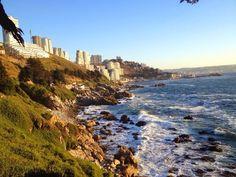 Reñaca / Chile, Pacific Coast Chile, World, Water, Photography, Outdoor, Happy, Saint James, I Love, Viajes