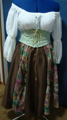 Renaissance  Gypsy Dress by WorksByRenaeHall on Etsy, $175.00