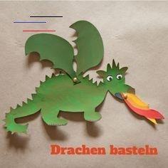 Tiere Basteln Kostenlose Vorlagen Tierebasteln In 2020 Dragon Crafts Crafts For Teens Crafts For Kids