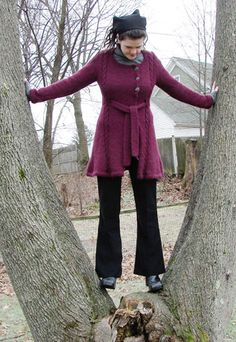Free Knitting Pattern - Womens Jackets & Outerwear: Montera Coat
