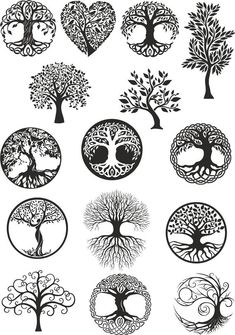 Vector ornament, decorative Celtic tree of life Ve. - Vector ornament, decorative Celtic tree of life Vector,tree digital file,tree dx… Vector ornamen - Tattoo Life, Tree Of Life Tattoos, Karma Tattoo, Vector Trees, Vector Art, Vector File, Body Art Tattoos, Tattoo Drawings, Tatoos