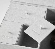 Linen Keepsake Boxes | Pottery Barn Kids