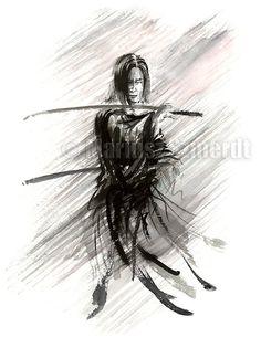 Ronin Samurai Warrior Japanese Katana Samurai Sword by SamuraiArt