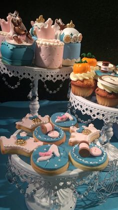 Gorgeous cookies at a Cinderella Princess Birthday Party!  See more party ideas at CatchMyParty.com!