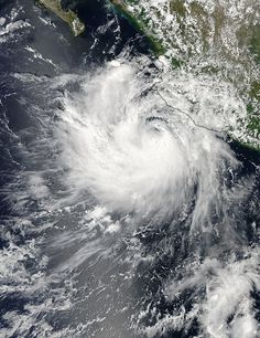At 5 a.m. EDT on Monday, Sept. 22, Tropical Depression Polo's maximum sustained winds have decreased to near 35 mph (55 kph) and additional weakening is forecast during two days.  In fact, the National Hurricane Center expects Polo to become a remnant later in the day.