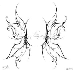 fairy wing tattoos wings are they double wings or maybe feathered ones Or maybe your fairy angel wings - angel wings tattoo designs. Fairy Wing Tattoos, Wing Tattoos On Back, Upper Back Tattoos, Atrapasueños Tattoo, Tattoo Mama, 100 Tattoo, Star Tattoos, Body Art Tattoos, Celtic Tattoos