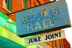 Blues Hall Juke Joint 8 x 10 photograph by alphaNUMERICphoto