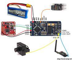 micro minim osd minim osd mini osd w kv team mod for racing f3 rh pinterest com Quadcopter Naze32 Wiring-Diagram Naze32 Current Sensor Wire To
