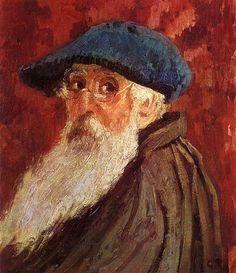 Camille Pissarro (French, Impressionism, 1830-1903): Self Portrait. - Google Search